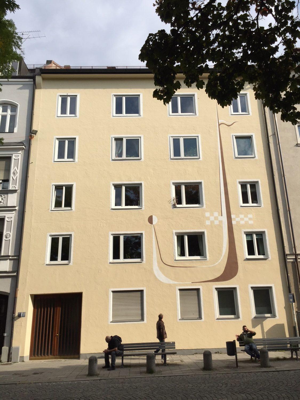 Charmantes 1 zimmer apartment mit wohnk che balkon als for 1 zimmer wohnung in munchen