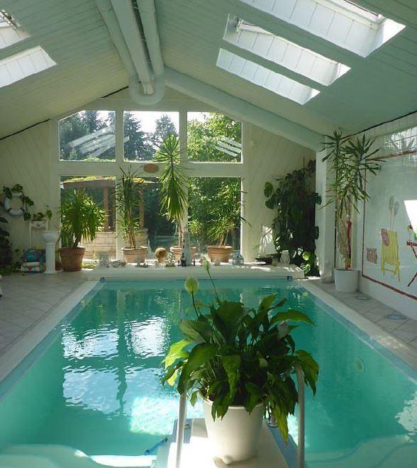 Indoor pool villa  Berlin Pankow französisch Buchholz 30 min von Berlin Mitte schmucke ...